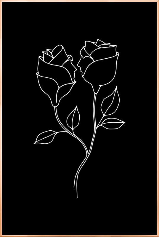 Natural Born Lovers -Poster im Alurahmen