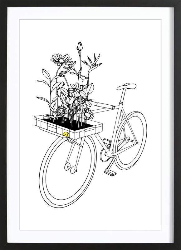 Wherever Flowers Go ingelijste print
