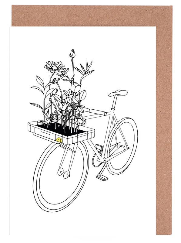 Wherever Flowers Go -Grußkarten-Set