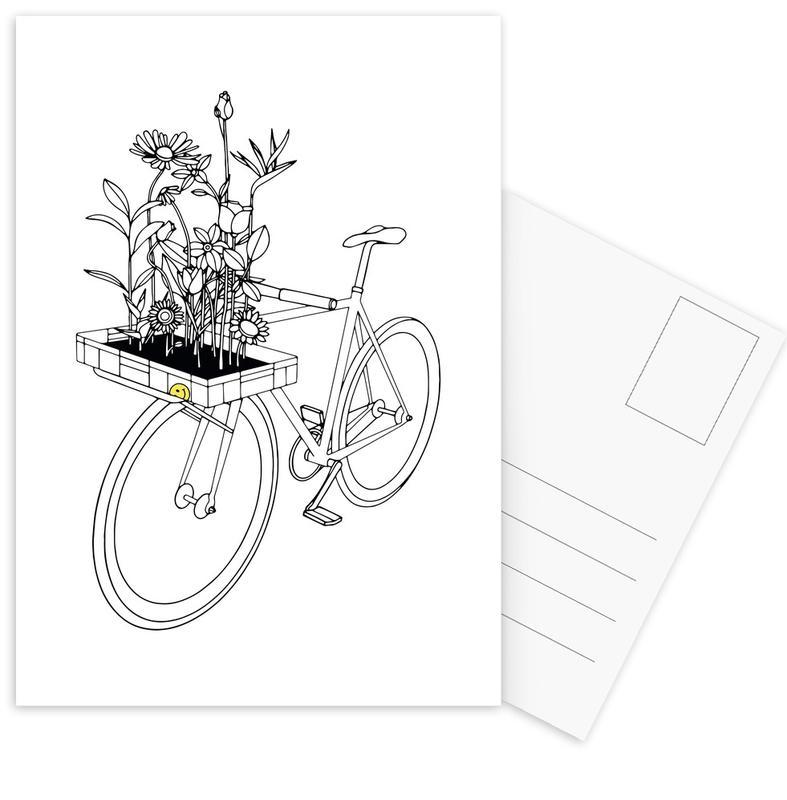 Wherever Flowers Go -Postkartenset