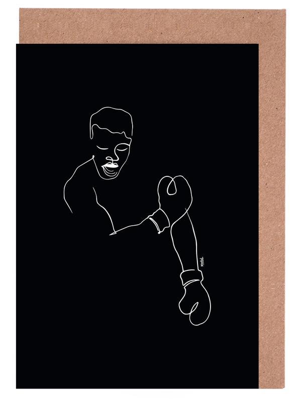 Noir & blanc, Mohamed Ali, Ali cartes de vœux