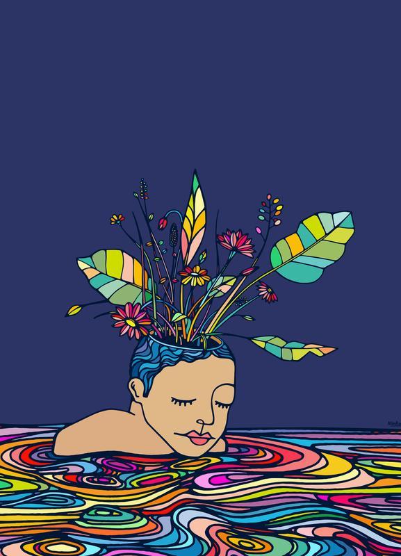 Spring Head -Leinwandbild