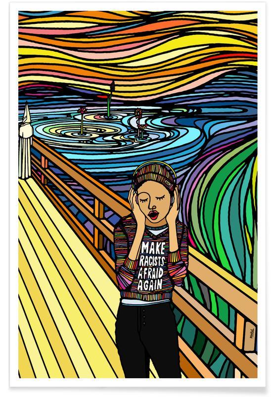 Dreamy, The Scream Poster