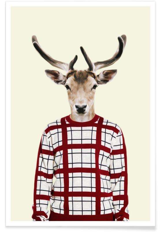 Créatures et hybrides, Humour, Mr Holiday affiche