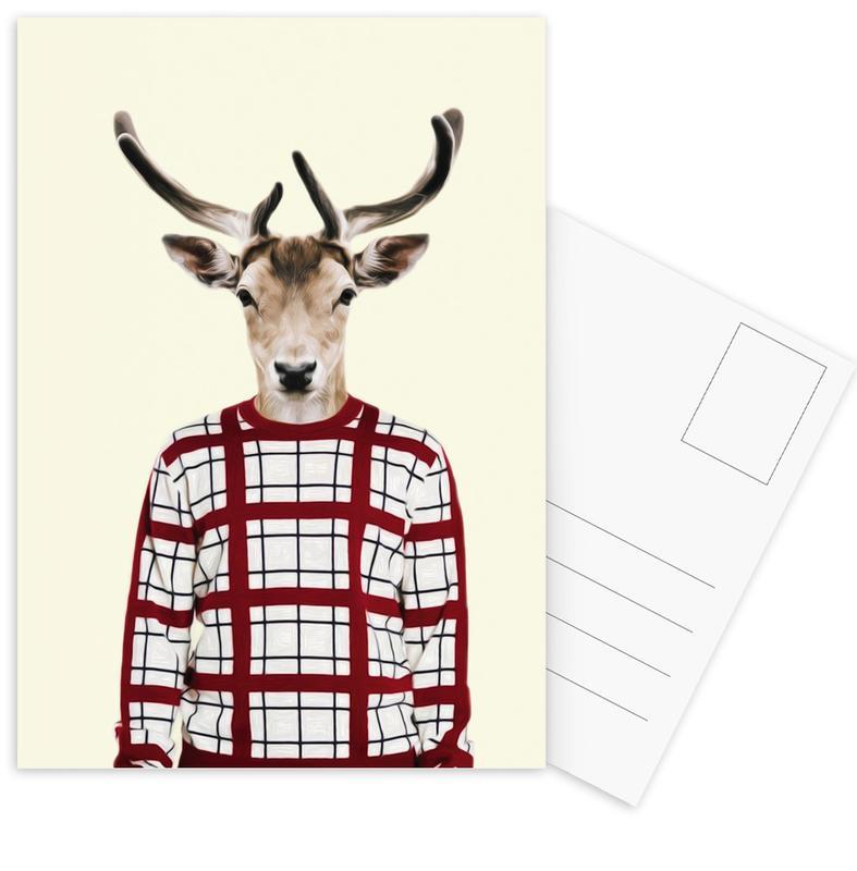 Mr Holiday Postcard Set