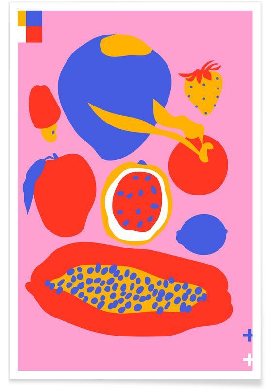 , Summer Fuits Poster