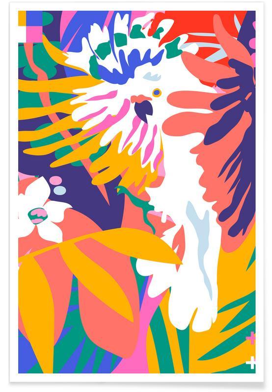 Bossen, Cockatoo Tropic Shift poster
