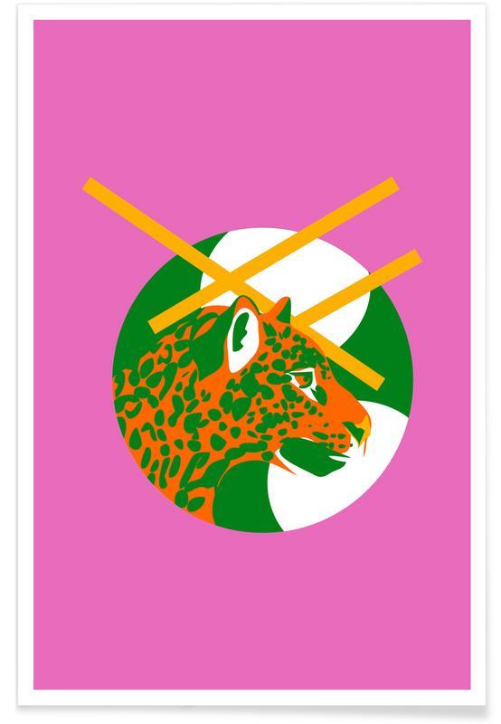 Bossen, Jaguar Dot poster