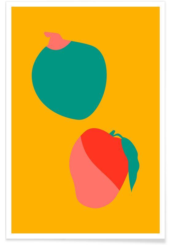 , Mango Coco Poster
