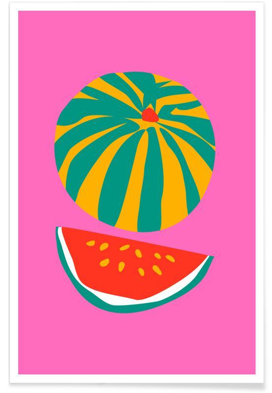 , watermelon affiche