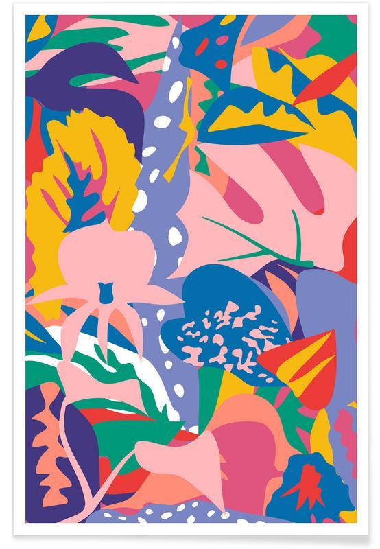 Feuilles & Plantes, Wild Bloom affiche