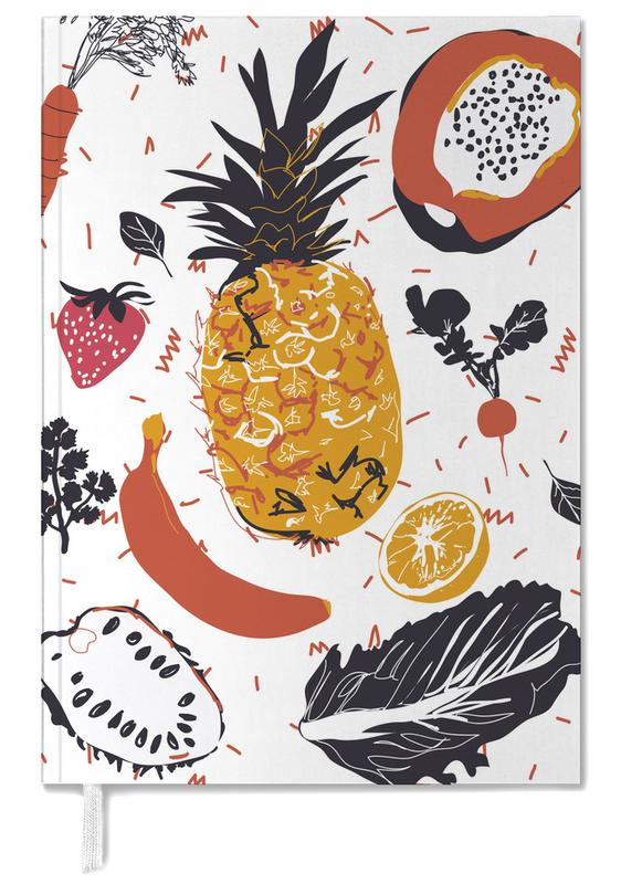 Fruit Veggie Party Personal Planner
