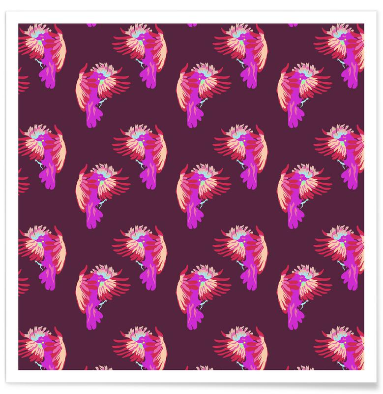 Perroquets, Nightbird In Paradise affiche