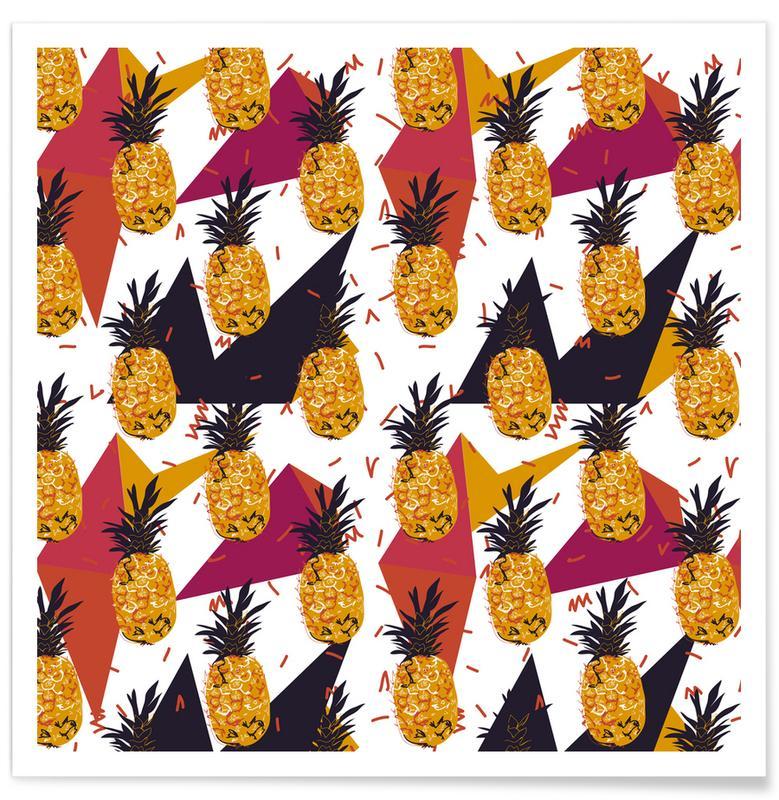 Ananas, Pineapple Jam -Poster