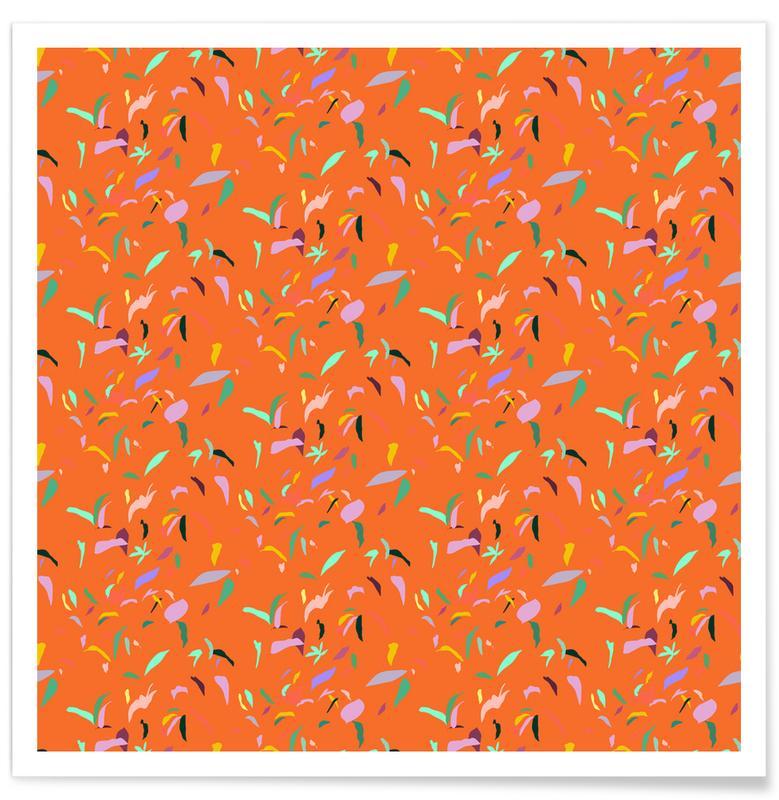 Patterns, Summer Fields Poster