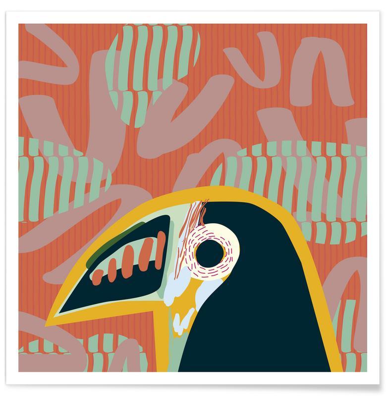 Toucans, Tropical Toucan affiche