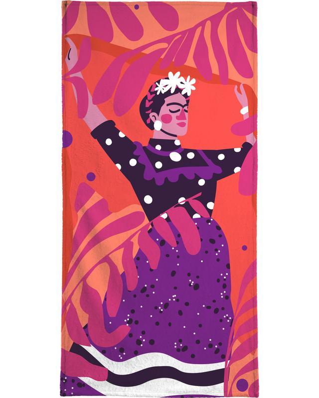 Frida Kahlo serviette de plage
