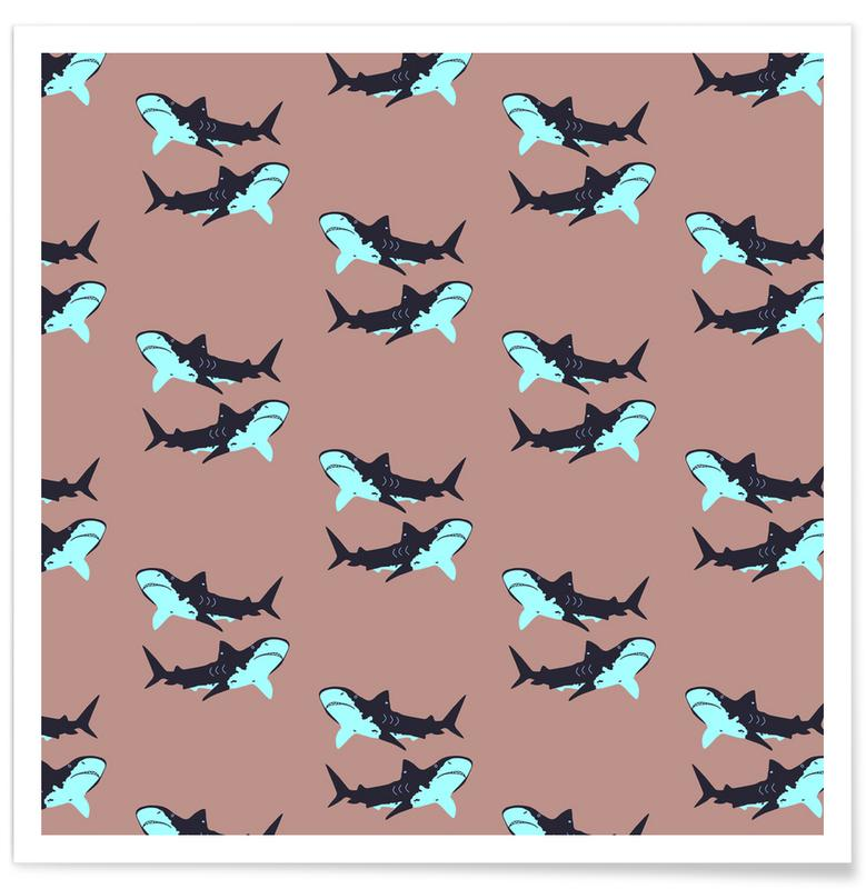 Hajer, Blue Sharks Plakat