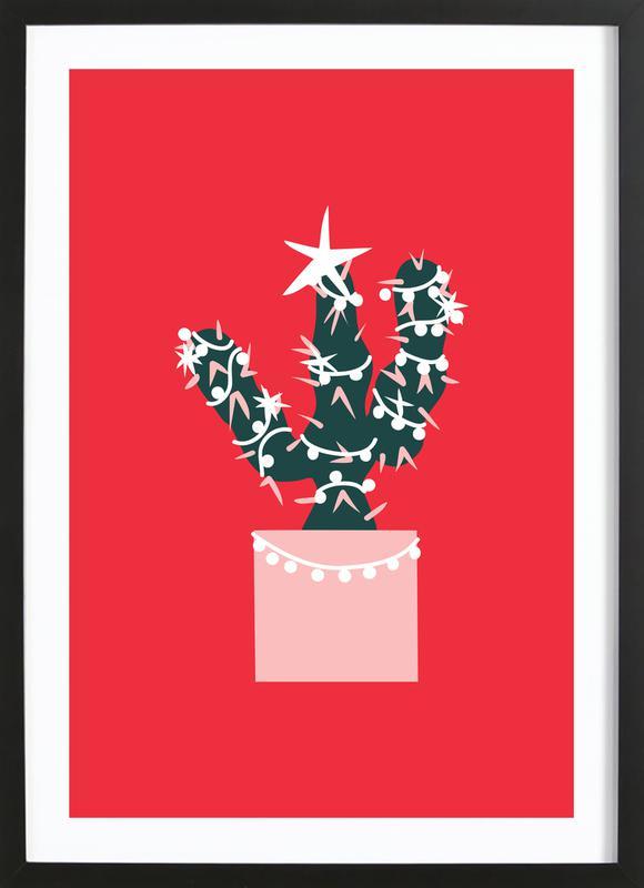 Christmas Cactus 2 Framed Print