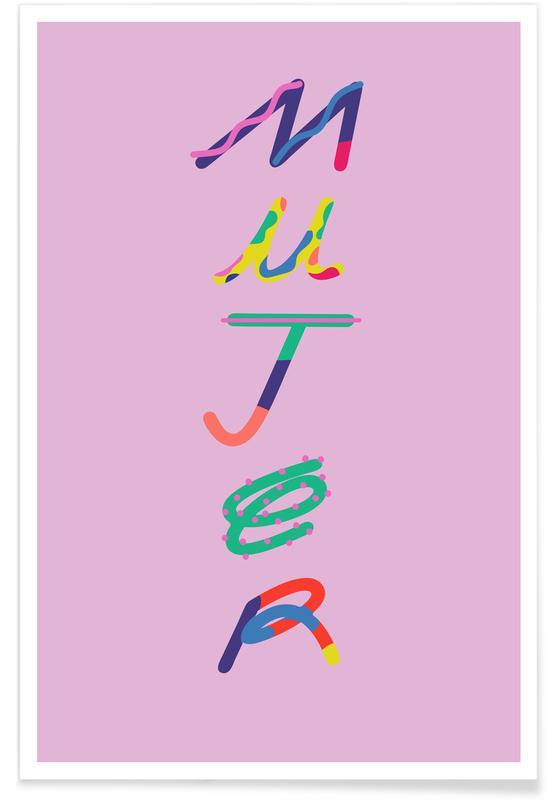 Motivational, Mujer Poster