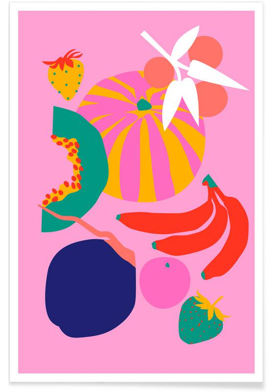 , Fruity Technicolor Mix 1 affiche