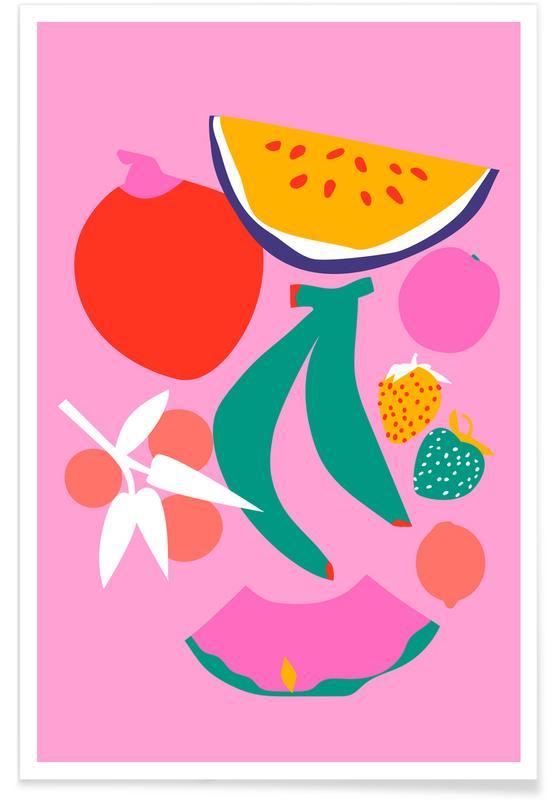 , Fruity Technicolor Mix 3 -Poster