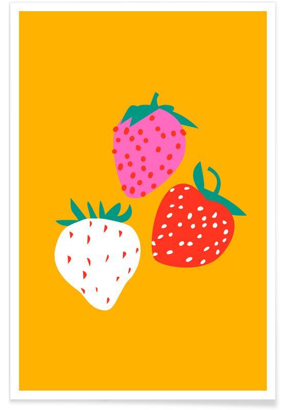 , Strawberries affiche