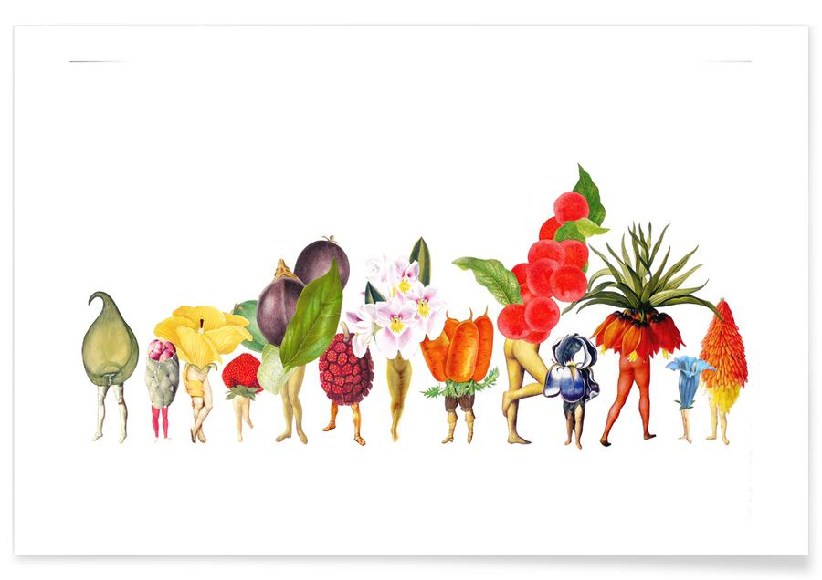 Retro, Fruiting Bodies #1 poster