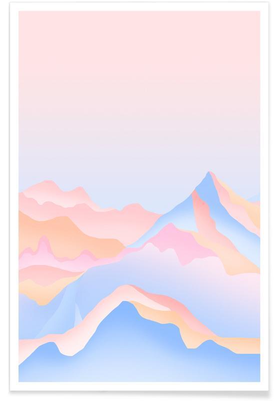 Montagnes, Mount affiche