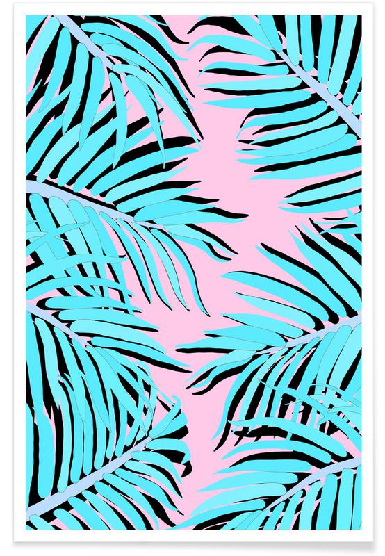 Leaves & Plants, Palms, Palm Tree Poster