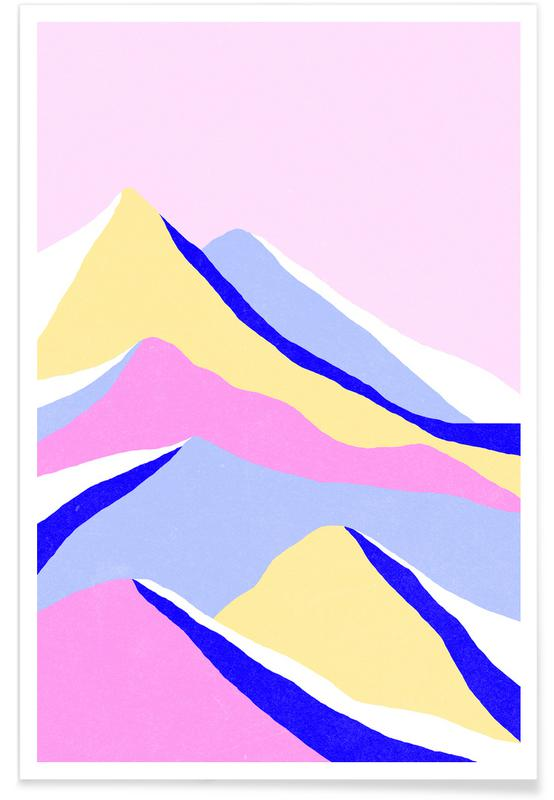 Abstract Landscapes, Up Poster
