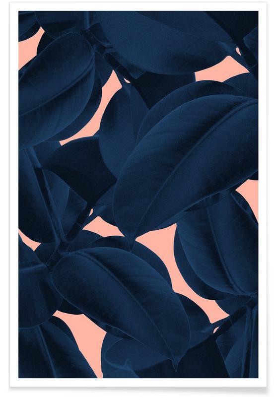 Leaves & Plants, Weekend Away Poster