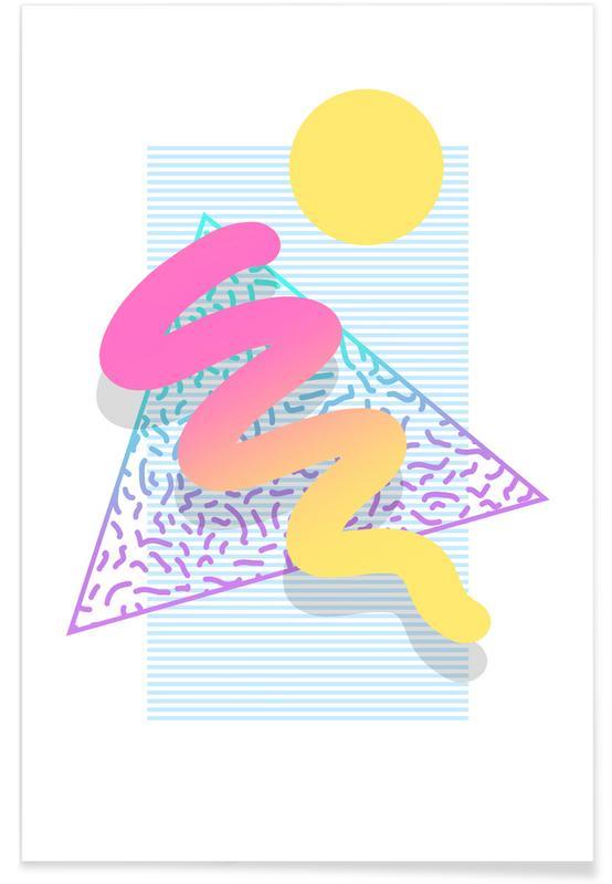 Retro, Dreams Poster