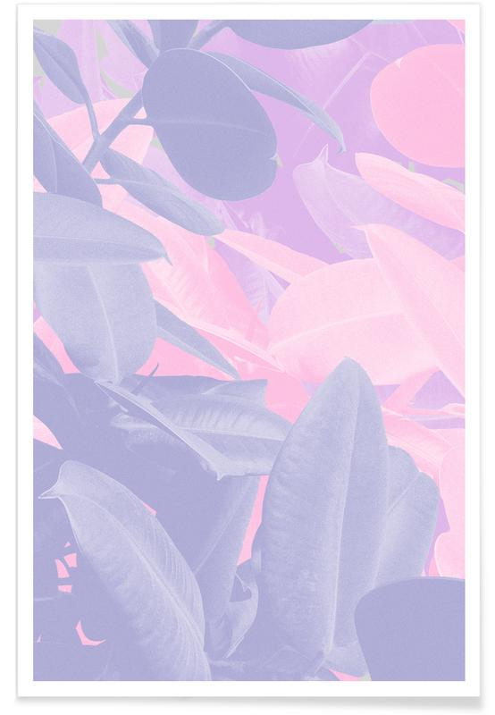 Leaves & Plants, Fiona Poster