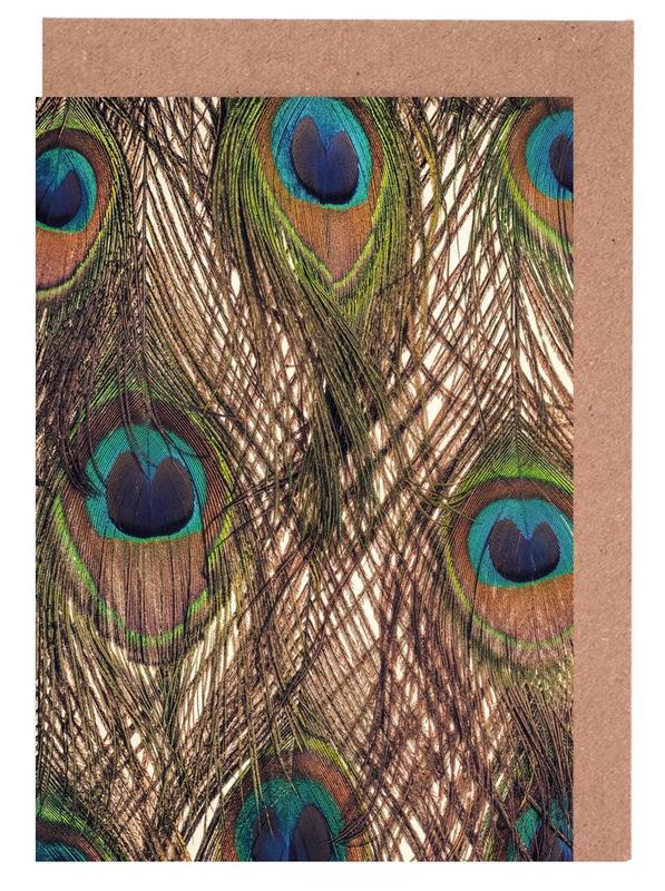 Peacocks, Peacock Greeting Card Set