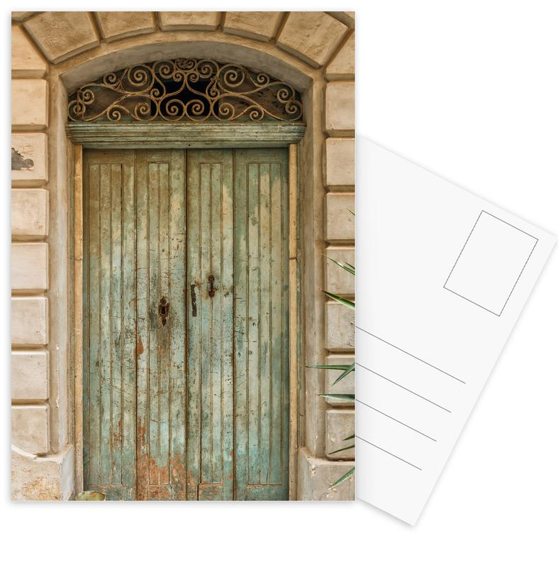 Architectonische details, Magical Malta Old Wooden Door ansichtkaartenset