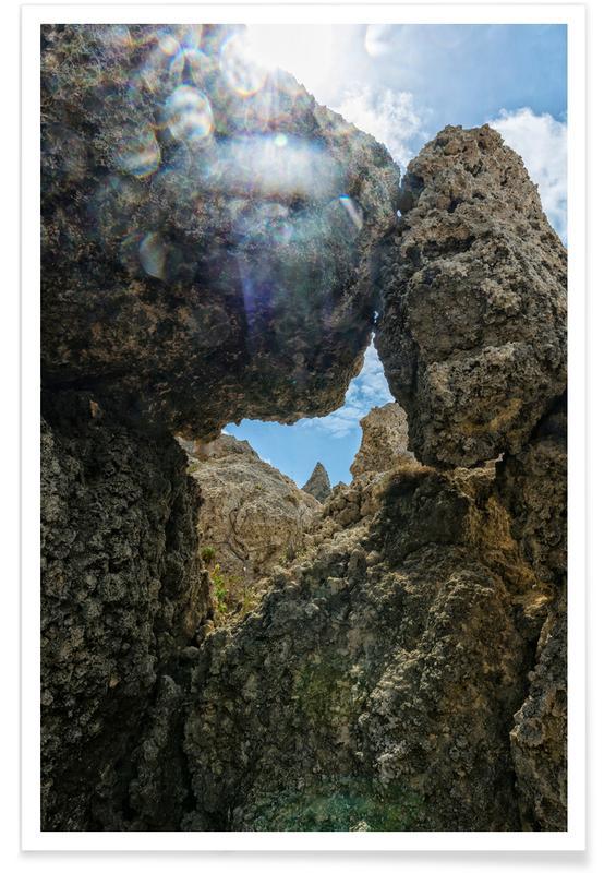 , Magical Malta Vulcanic Rocks Poster