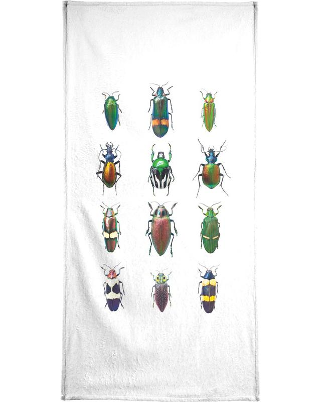 Insect 3 Bath Towel