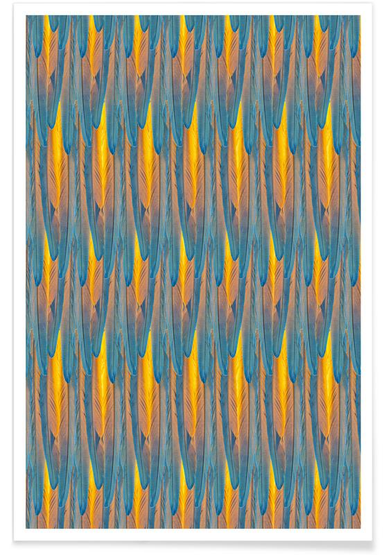Feathers, Patterns, Feathers Poster