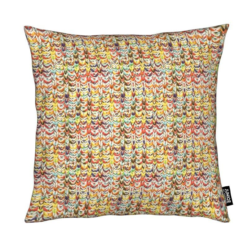 Knit coussin