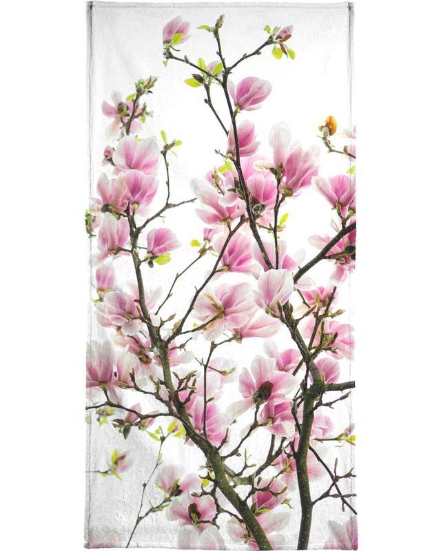 Magnolia Pink 2 -Handtuch