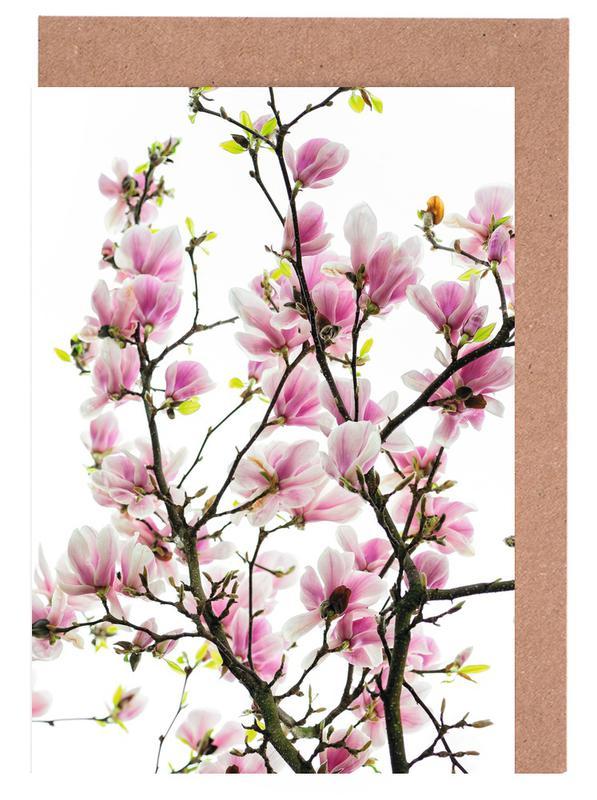 Magnolia Pink 2 cartes de vœux