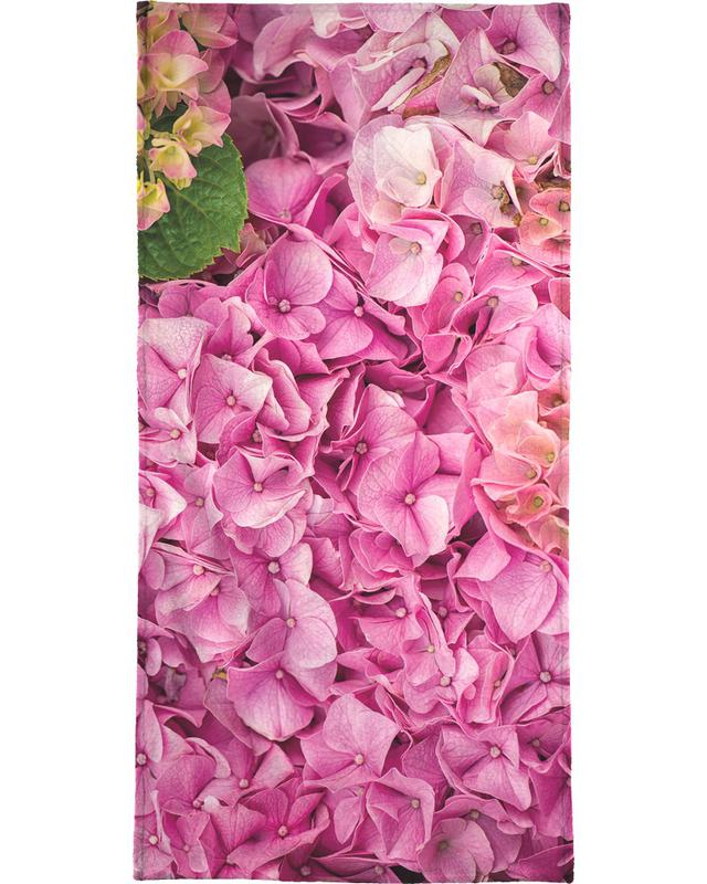 Hortensia Pink -Strandtuch