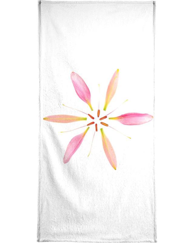Blätter & Pflanzen, Lilien, Glückwünsche, Lilly Flower -Handtuch