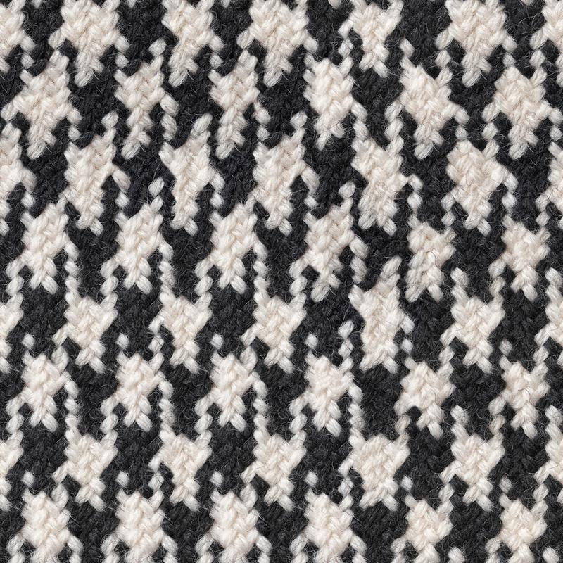 Houndstooth Pattern Canvas Print