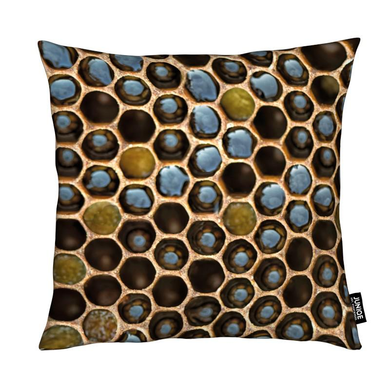 Bee Pattern coussin