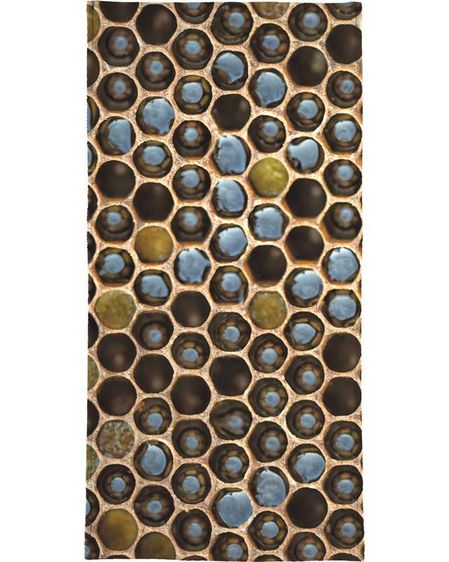 Bee Pattern Bath Towel