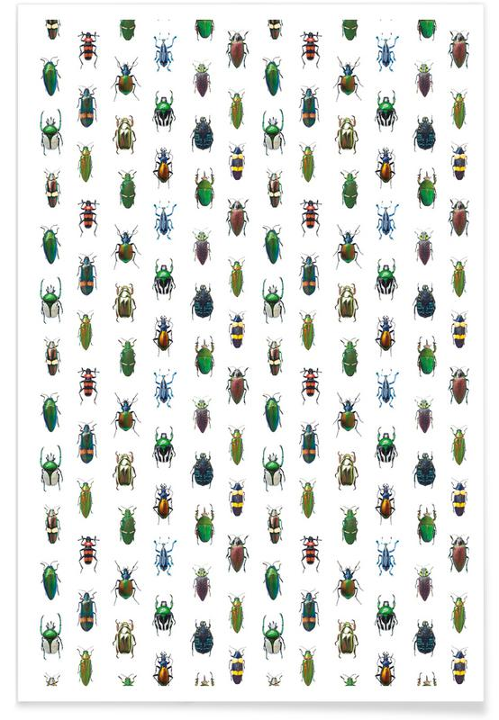 Biller, Beetles Plakat
