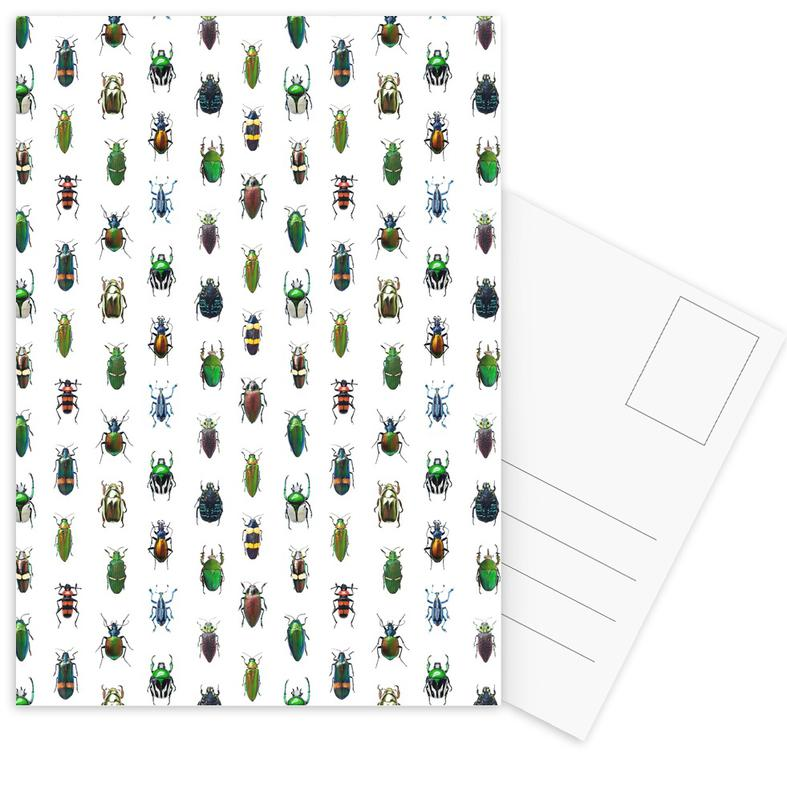 Beetles -Postkartenset