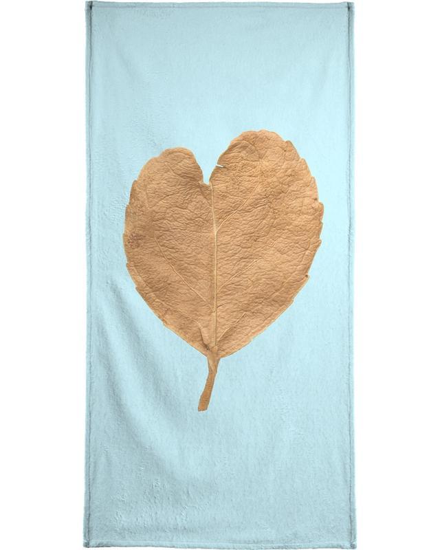 Jubileums en liefde, Bladeren en planten, Harten, Heart XII strandlaken